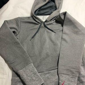 Nike ribbed hoodie